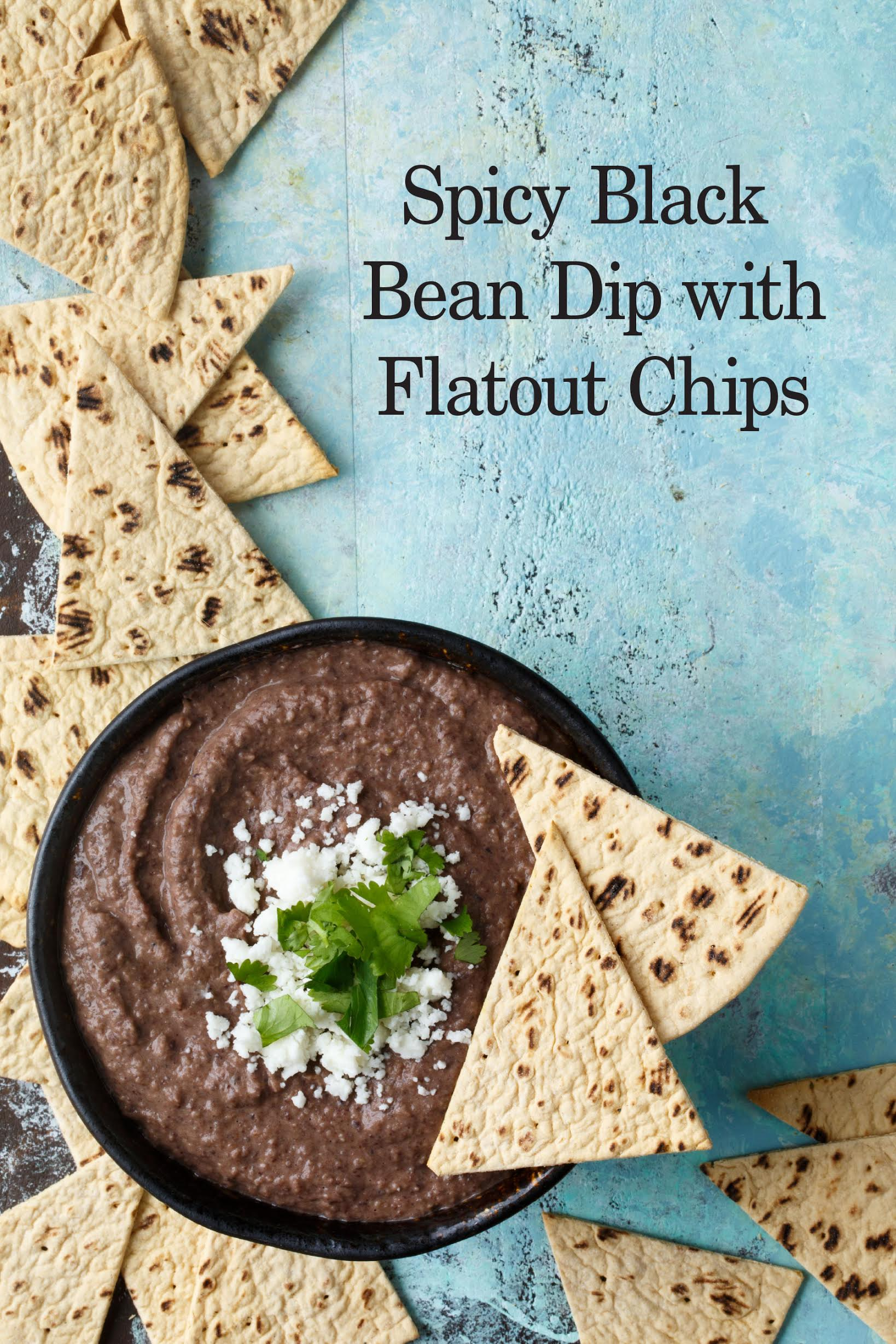 spicy black bean dip