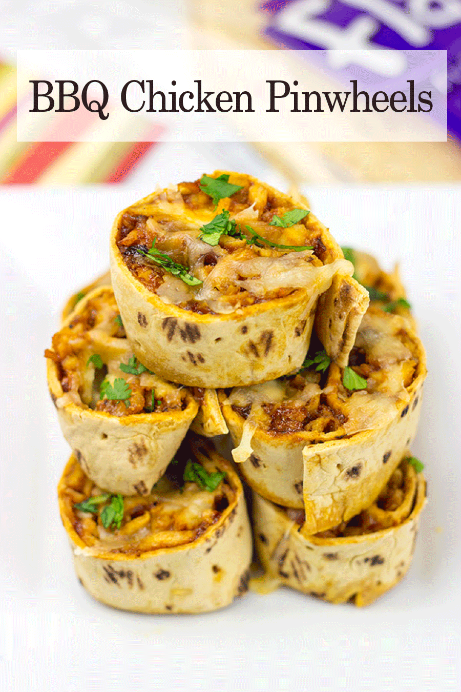 bbq chicken pinwheels