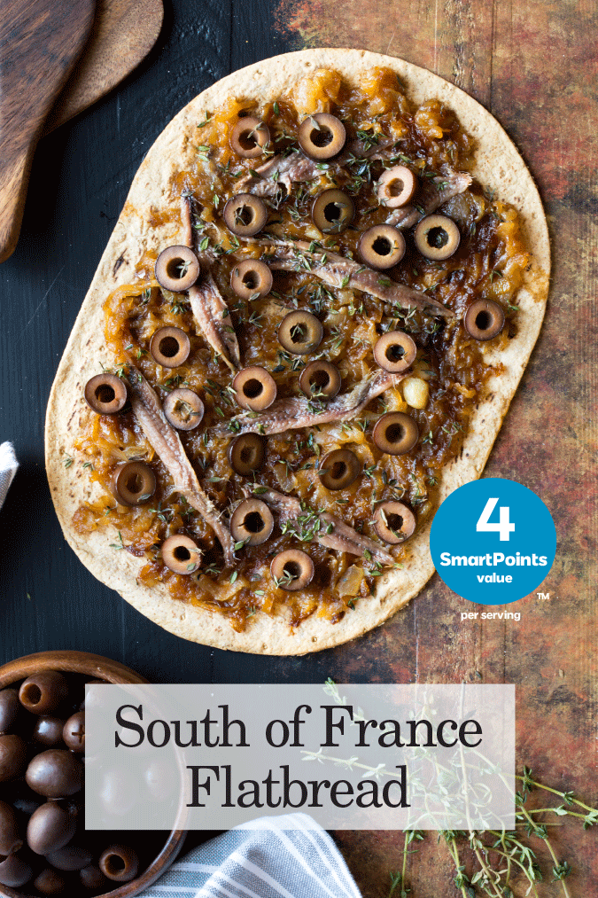 south of france flatbread recipe
