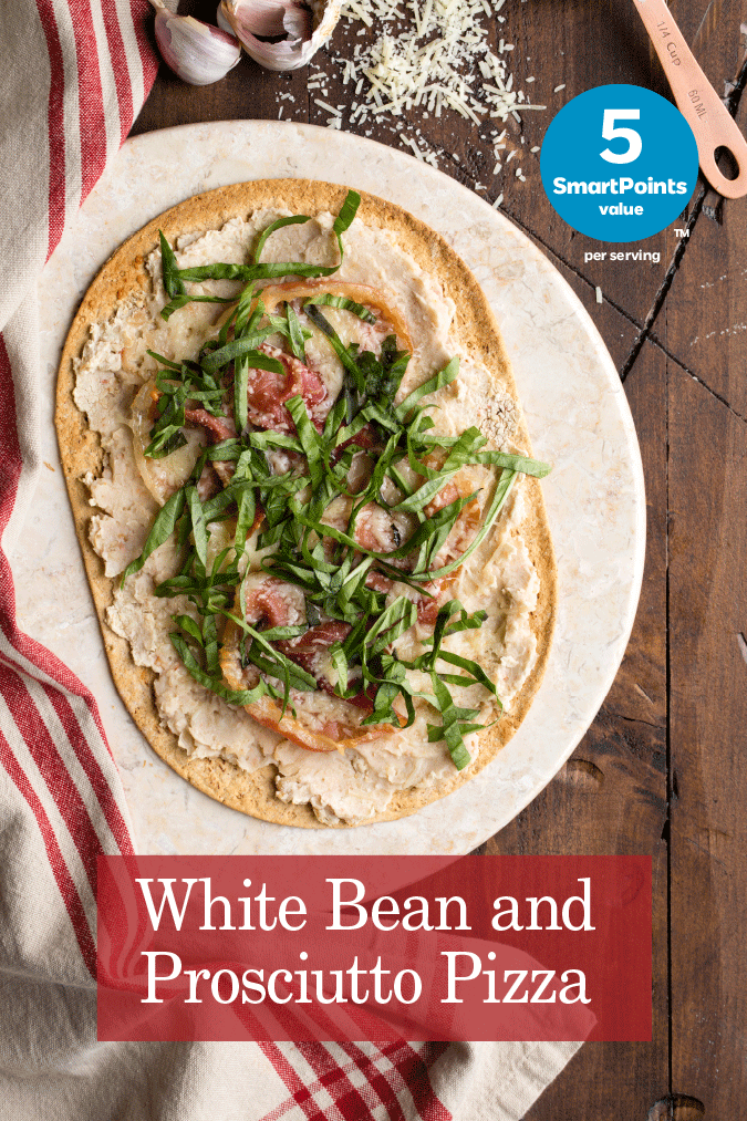 white bean prosciutto pizza recipe
